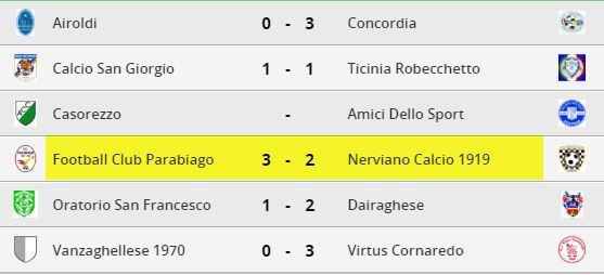 parabiago-calcio-allievi-risultati-9-giornata