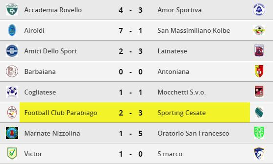 parabiago-calcio-juniores-risultati-30-giornata