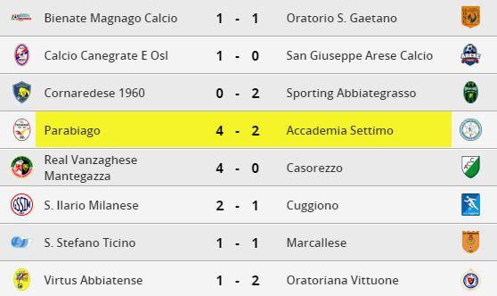 parabiago-calcio-prima-squadra-risultati-29-giornata