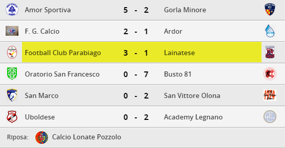 parabiago-calcio-under-17-risultati-2-giornata