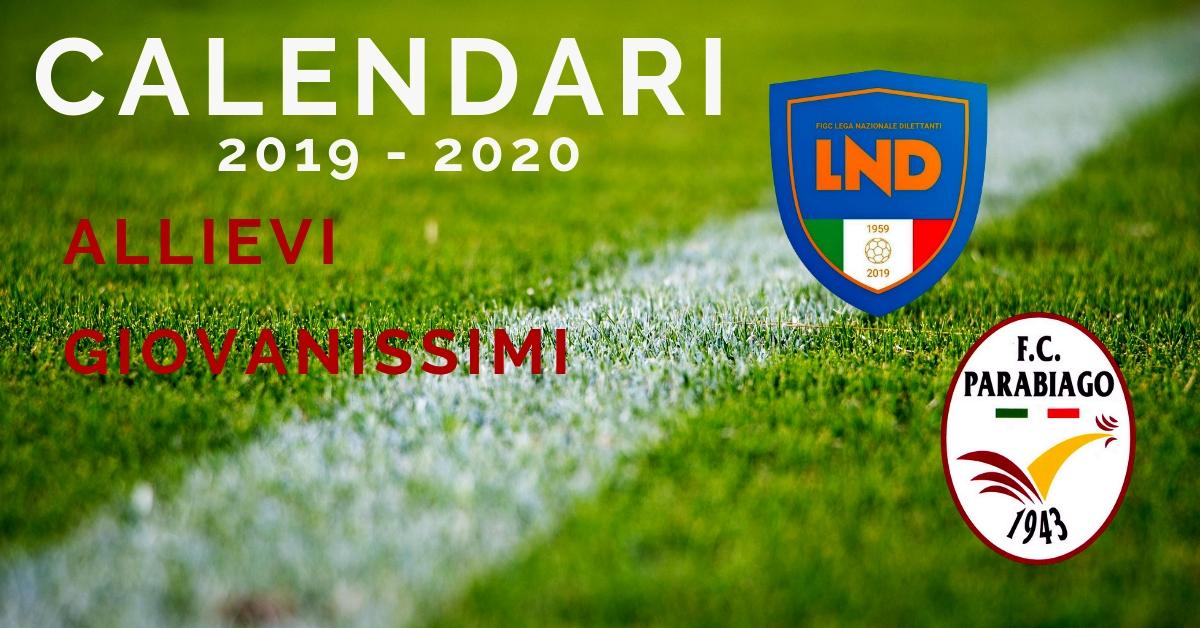 parabiago-calcio-calendari-allievi-giovanissimi-2019-2020