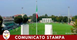 Venerdi: Se ci sarà campionato agonistica predisporremo allenamento per 2003-04-05-06, altrimenti l'impianto resterà chiuso.