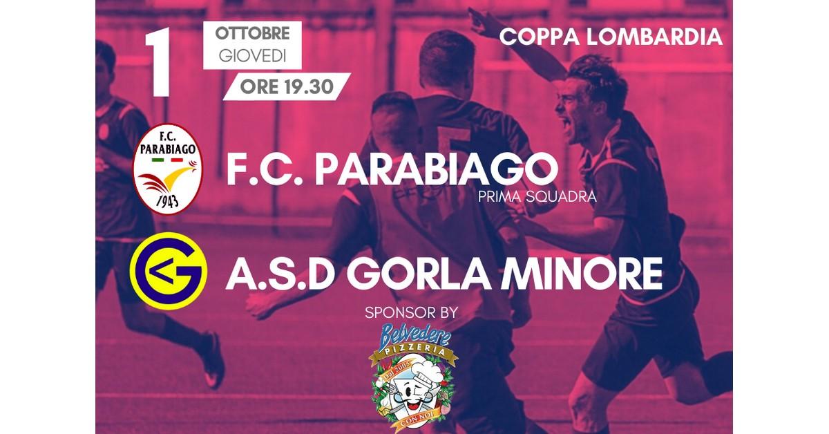 Prima Squadra 3° Match Coppa