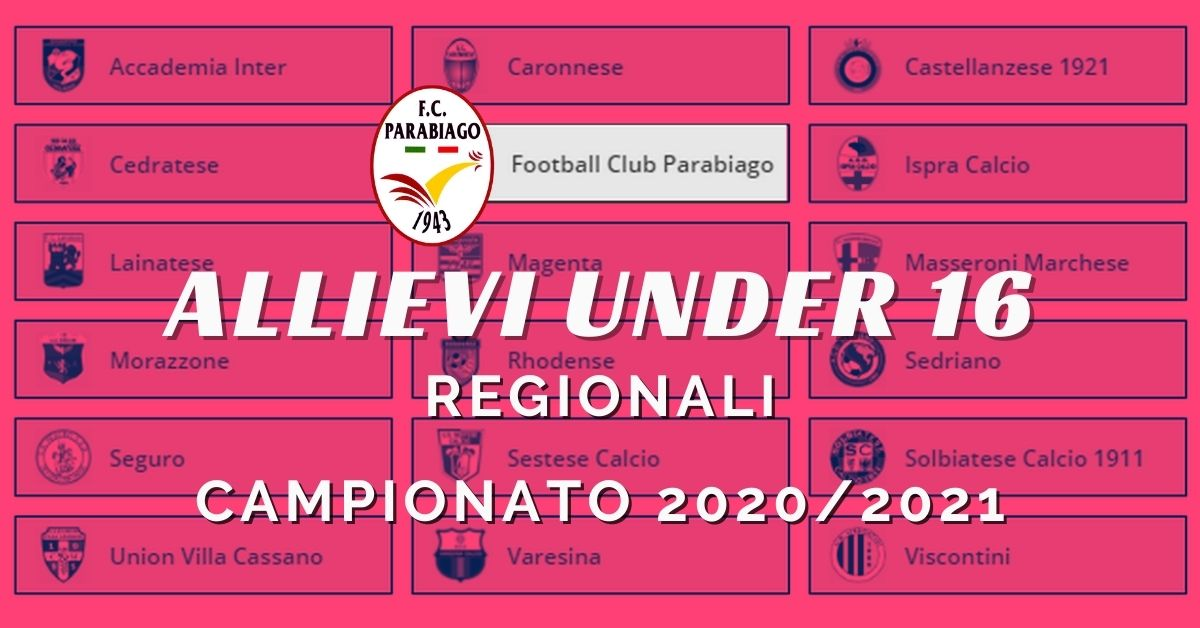 Under 16 Regionali il Girone