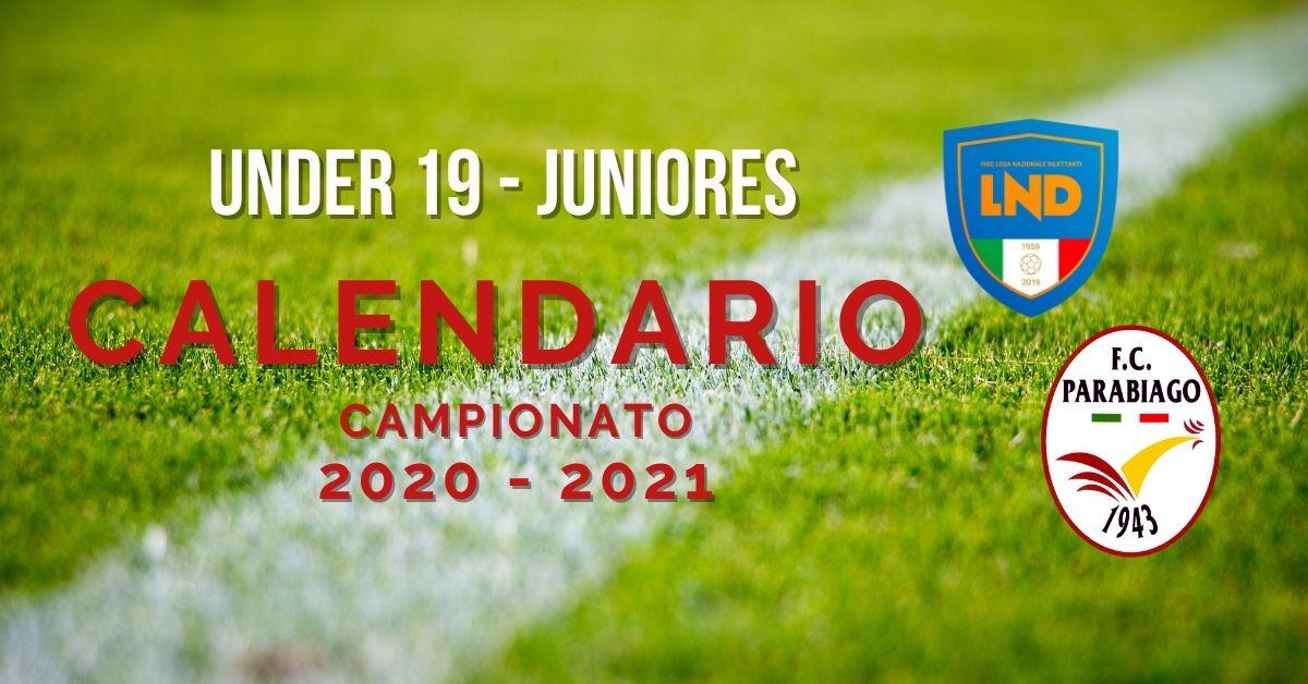 Under 19 Juniores – Campionato 2020-2021