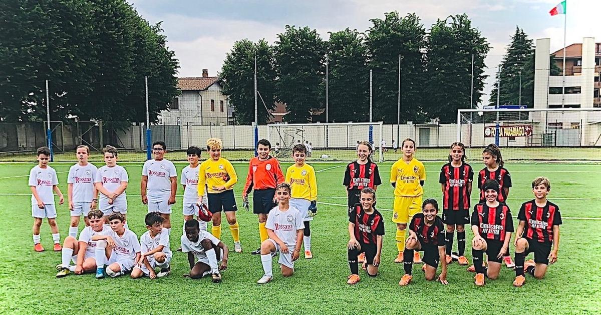 Pulcini Under 10 vs A.C. Milan Femminile