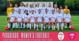 parabiago-calcio-squadra-femminile-2021-2022