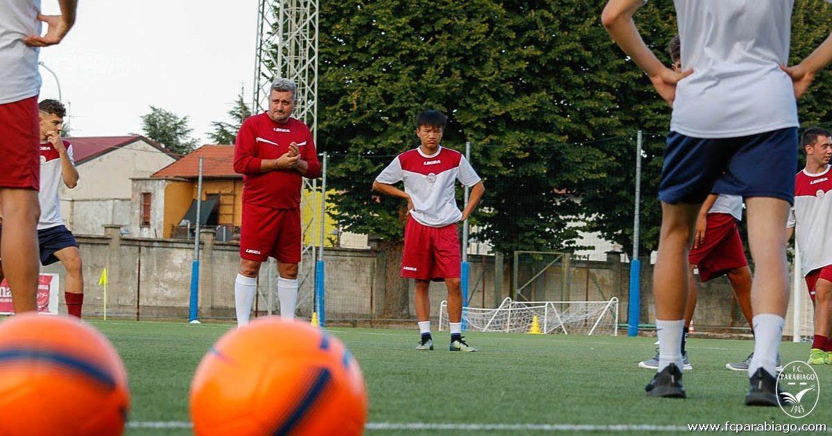 Juniores allenamento congiunto